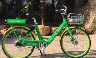 Les vélos Lime s'installent à Marseille