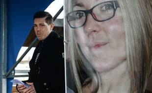 Jonathann Daval, le mari d'Alexia, la joggeuse tuée, le 5 novembre 2017.