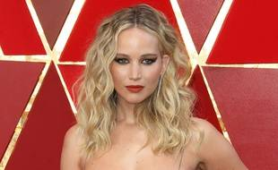 L'actrice Jennifer Lawrence