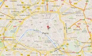 Le square du Temple (Paris, 3e).