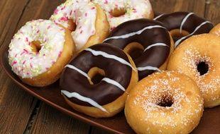 Les policiers ont confondu le sucre glace d'un donut avec de la méthamphétamine (illustration).