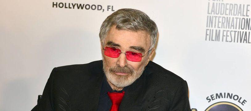 L'acteur Burt Reynolds