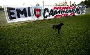 Le club San Martin de Progreso, théâtre des premiers exploits d'Emiliano Sala, rend hommage samedi 16 février 2019 au footballeur argentin, décédé dans un accident d'avion.