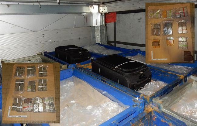 Saisie de 32 kilos d'héroïne dans un poids-lourd — Dunkerque