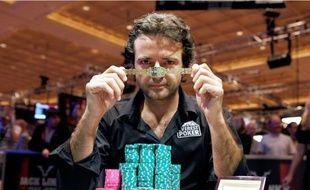 Fabrice Soulier, vainqueur de l'Event 37, H.O.R.S.E Championship.