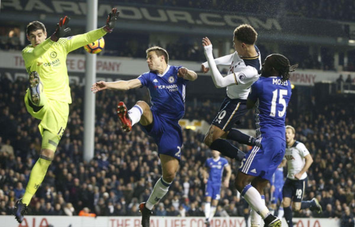 Delle Alli et les Spurs ont mis fin à l'invincibilité des Spurs.  –  Alastair Grant/AP/SIPA