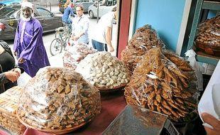 Des patisseries orientales vendues lors de la période du ramadan.