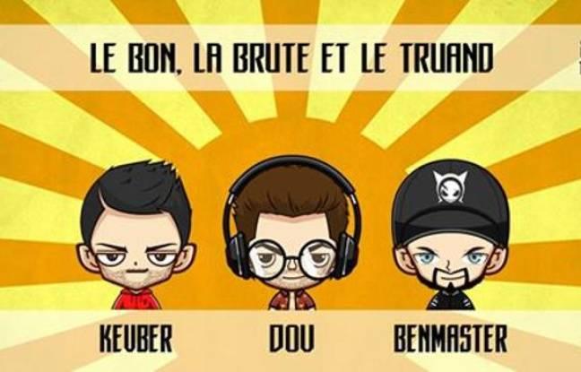 Illustration des trois DJs présents à la soirée du 45 Tours