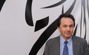 Gilles Kepel, professeur spécialiste de l'islam à Sciences-Po Paris, le 10 août 2004, à Francfort, en Allemagne.