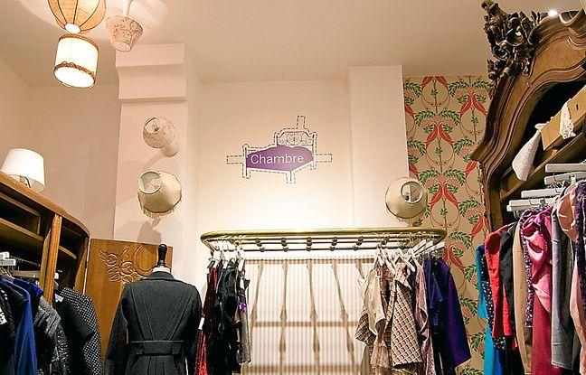 Certains clients pourront dormir dans ce concept store.