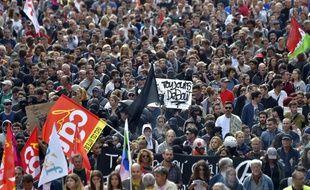 Une manifestation contre la Loi Travail en septembre 2016