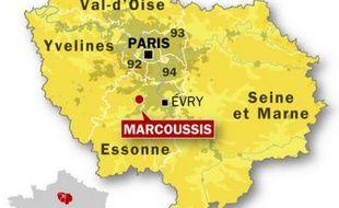 Marcoussis, dans l'Essonne.