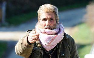 Olivier Corel, présenté comme un des mentors des jihadistes français, à Artigat le 23 mars 2012