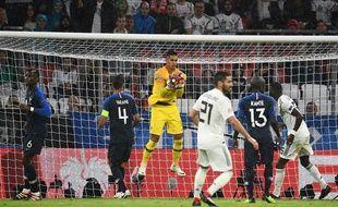 Allemagne-France: Alphonse Areola