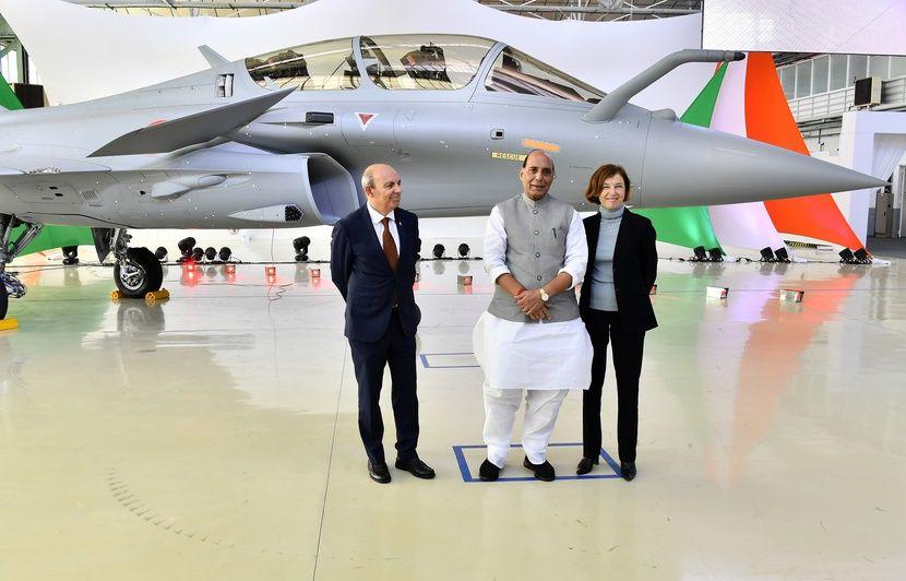 Bordeaux : L'Inde prend livraison de son premier Rafale à l'usine Dassault de Mérignac