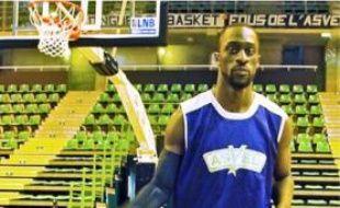 Pops Mensah-Bonsu a effectué son premier entraînement avec l'Asvel lundi.