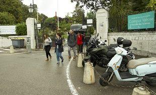 La tension est vive au campus Valrose de Nice, où des incidents sont survenus mercredi dernier.