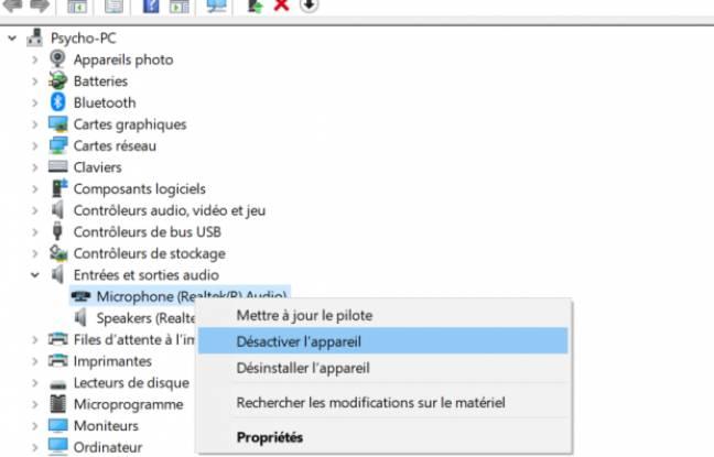 Windows 10: comment désactiver sa webcam et son microphone
