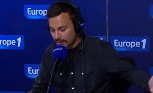 Bertrand Chameroy dans l'émission «Bonjour la France» sur Europe 1