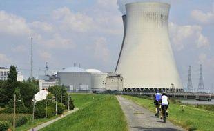 La centrale nucléaire de Doel, en Begique, le 9 août 2012