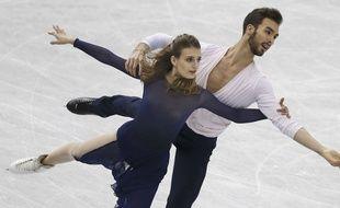 Gabriella Papadakis et Guillaume Cizeron à Nagoya, le 9 décembre dernier.