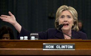 Hillary Clinton s'exprime sur Benghazi devant une commission spéciale du Congrès, le 22 octobre 2015.