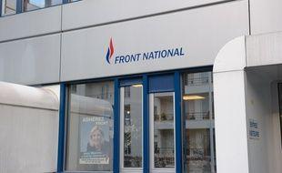 Le siège du Front National à Nanterre en 2012.