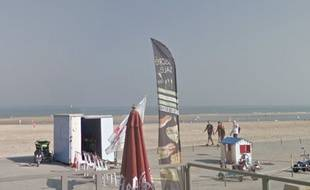 La plage de Malo-les-Bains, dans le Nord.