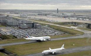 Le tarmac de l'aéroport Charles-de-Gaulle à Roissy le 27 décembre 2012