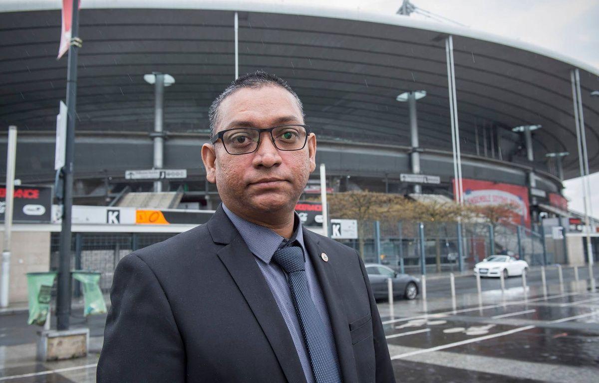 Salim Toorabally, agent de sécurité au Stade de France le 13 novembre 2015, a refoulé Bilal Hadfi. – S.TOORABALLY