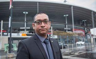 Salim Toorabally, agent de sécurité au Stade de France le 13 novembre 2015, a refoulé Bilal Hadfi.