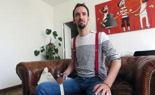 Antoine Moisan veut faire porter des bretelles aux Français avec sa marque Upsilon.