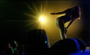 Dans un club de strip-tease (photo d'illustration)