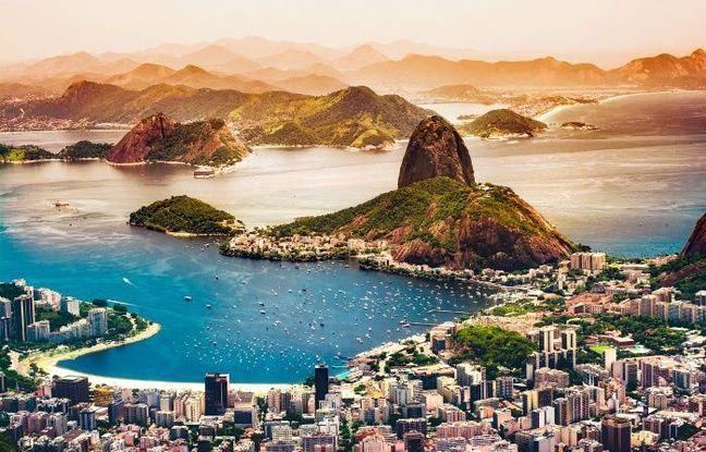 Vue de la baie de Rio
