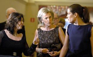 La princesse Astrid de Belgique (au centre).