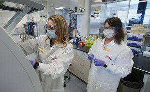 Des chercheuses du laboratoire Eli Lilly (illustration).