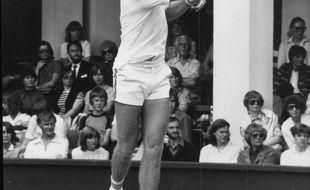 Peter McNamara à Wimbledon en 1981.