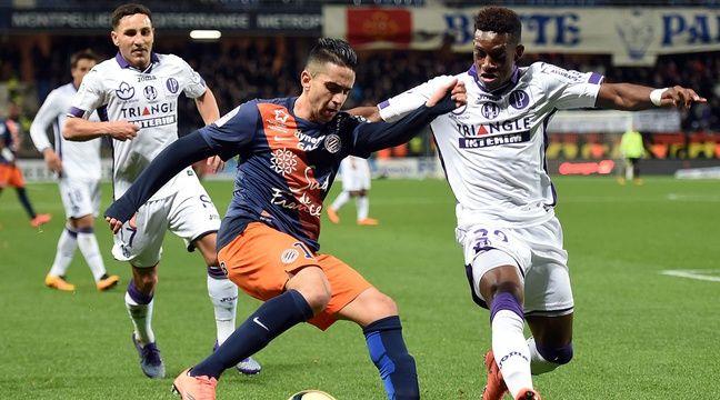 Ryad Boudebouz face à Toulouse, en 2016 – Pascal.Guyot/AFP