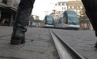 Illustrations tram. Le 26 01 2009