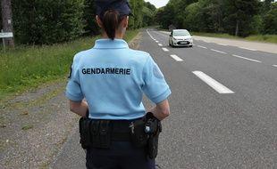 D'importants moyens ont été déployés par la gendarmerie pour retrouver le véhicule en fuite..
