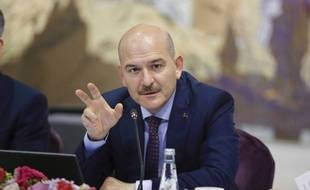 Suleyman Soylu, ministre truque de l'Intérieur le 21 août 2019