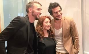 Christophe Willem, Isabelle Boulay et Amir, les trois jurés francophones de «Destination Eurovision».