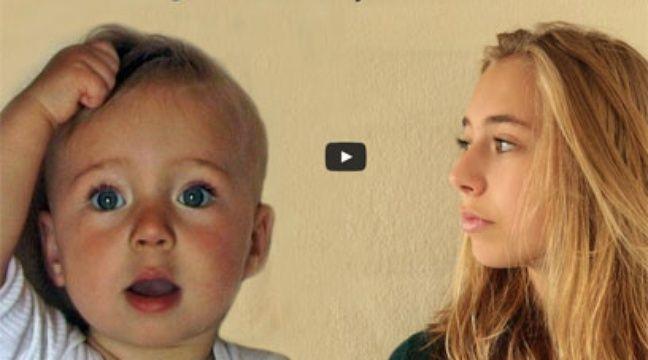 video il filme sa fille 15 secondes par semaine pendant 14 ans. Black Bedroom Furniture Sets. Home Design Ideas