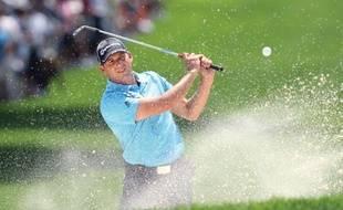 Le golfeur espagnol Sergio Garcia, lors du Bridgestone Invitational d'Akron, le 7 août 2009.