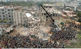 En 2013, l'effondrement du Rana Plaza avait fait 1138 morts.