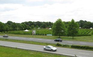 Le Labyrinthe est accessible depuis la 2x2 voies Nantes-Pornic.