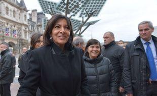 Anne Hidalgo, maire de Paris, dotera d'1 million d'euros d'ici 2020 le Fonds vert pour le climat des Nations unies.