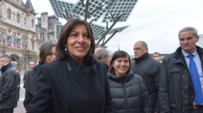 Anne Hidalgo, maire de Paris, dotera d'1 million d'euros d'ici 2020 le Fonds vert pour le climat des Nations unies.  – SIPA