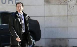 Le juge d'instruction Jean-Michel Gentil, le 19 février 2013 à son arrivée au Palais de justice de Bordeaux