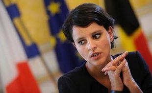 """Najat Vallaud-Belkacem, porte-parole du gouvernement, interrogée jeudi sur un plan gouvernemental de relance de la compétitivité, a assuré que tous les scénarios étaient """"sur la table""""."""